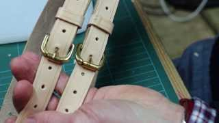 Making Leather Straps And Belts