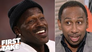 Show me Antonio Brown was the problem! – Stephen A. to the Steelers | First Take