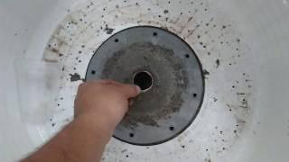 como remover tuerca central lavadora muy facil :-)