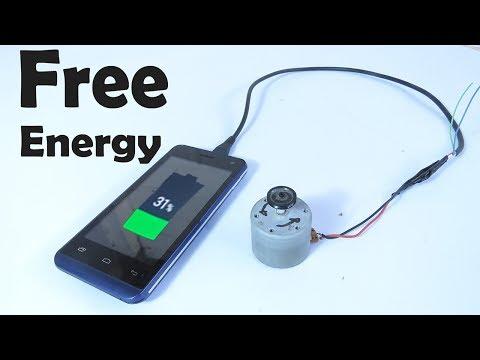 Como Hacer Un Cargador De Teléfono Móvil - Energía Libre y Gratuita En El Hogar - ENERGY FREE