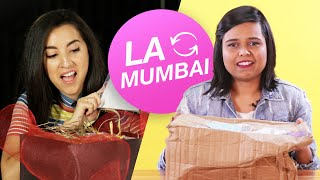 Women Swap Mystery Beauty Boxes • LA and Mumbai