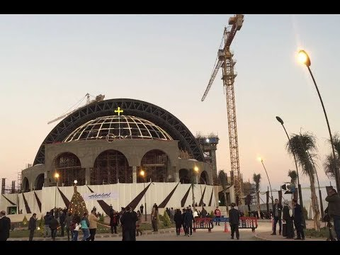 «العاصمة الإدارية» تستقبل أول قداس بكاتدرائية المسيح وسط إجرائات أمنية مكثفة