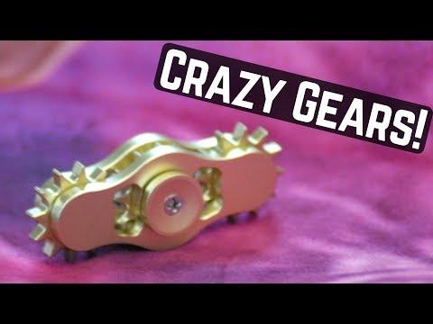 Gear Fidget Spinner! (So cool! From Banggood)