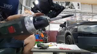 Volvo Xc90 установка светодиодных лампочек в магнитолу