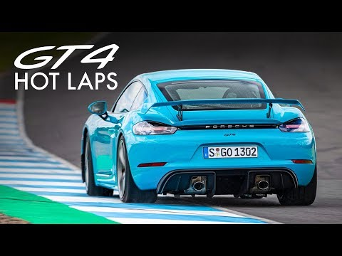 Porsche 718 Cayman GT4: Walter Röhrl Drives Hot Laps! | Carfection 4K
