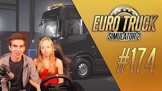 ДЕВУШКА ИГРАЕТ В EURO TRUCK SIMULATOR 2 (1.32.3.4s) [#174]