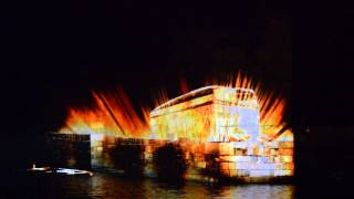 preview picture of video '3D projection mapping show - Byblos port ( by studio mr.white & minus5architects)'