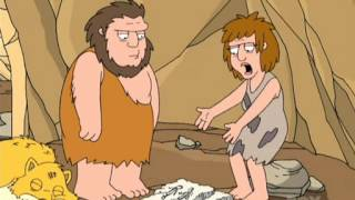Family Guy- Caveman and his wife!!!! When women will be changed?  Not yet!!!