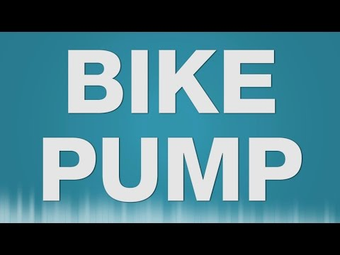 Bike Pump SOUND EFFECT - Air Pump Luftpumpe Fahrrad aufpumpen SOUNDS