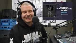 Papoose & DJ Premier   Numerical Slaughter REACTION VIDEO