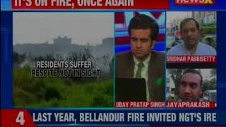 Bellandur catches fire again