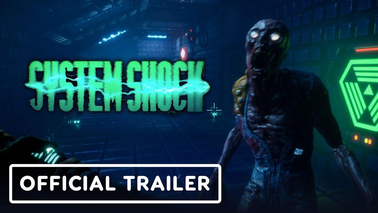 Тизер-трейлер альфа-версии игры System Shock (2020)