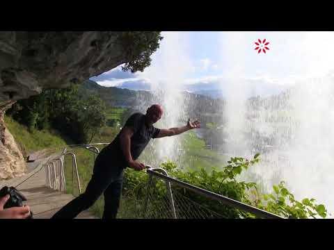 Steinsdalsfossen Waterval