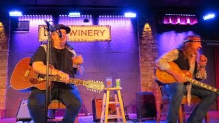 "KEVN KINNEY of Drivin' n' Cryin' w/ Warner Hodges ""Let's Go Dancing""  @ City Winery Atlanta 2016"
