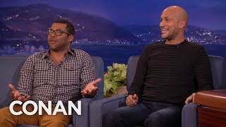 Key and Peele On The Most Annoying Background Extra Ever   CONAN on TBS