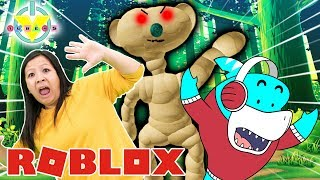 RYAN'S MOMMY IS THE BEAR! Let's Play Roblox Eascape the BEAR with Big Gil