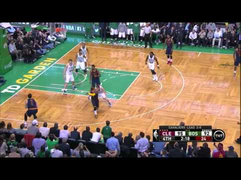 NBA, Playoff 2015, Cavaliers Vs. Celtics, Round 1, Game 3, Move 59, Kevin Love, 3 Pointer