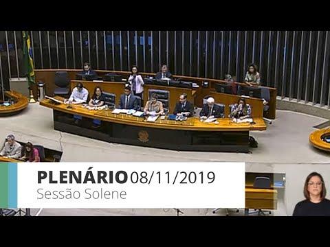 Plenário - Sessão Solene - 08/11/2019 - 15:31