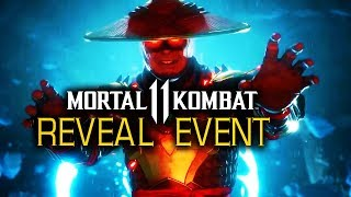 FULL Mortal Kombat 11 Official Gameplay Reveal Event | NetherRealm Studios