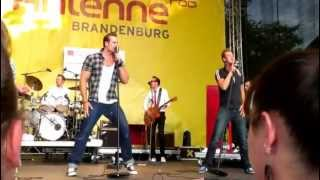 The Baseballs - Bitch live 01.09.12 in Lübbenau