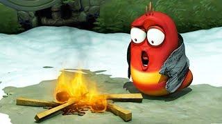 LARVA - FIRE CAMP | Cartoon Movie | Cartoons For Children | Larva Cartoon | LARVA Official