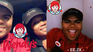 What It's Like Working At Wendy's! // Scared of Cash Register!?!?