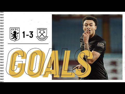GOALS | ASTON VILLA 1-3 WEST HAM UNITED