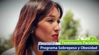 Testimonio Paciente Programa de Sobrepeso y Obesidad