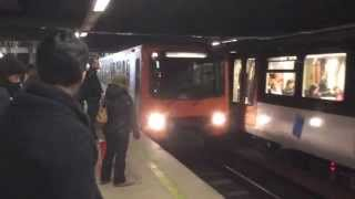 preview picture of video 'Brussels Metro Lines 1 and 5 (Trip to Europe)'