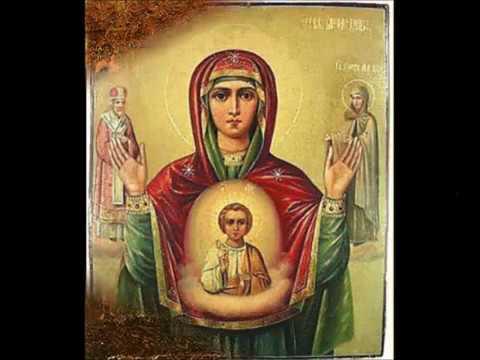 Икона Знамение. Молитва