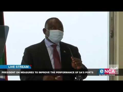 بالفيديو .. سرقة آيباد رئيس جنوب إفريقيا خلال مؤتمر صحفي
