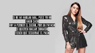 Danna Paola, Greeicy   Mala Fama (Remix)(Letra  Lyrics)