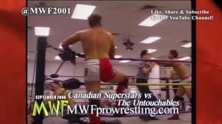 Canadian Superstars (w/ John Cena Sr.) vs Untouchables : (MWF September 2006)