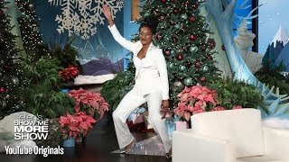 Ellen Gives Tiffany Haddish Her Dream Gift