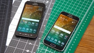 Galaxy S6 Active vs Galaxy S6: More Than Just A Little Rubber | Pocketnow
