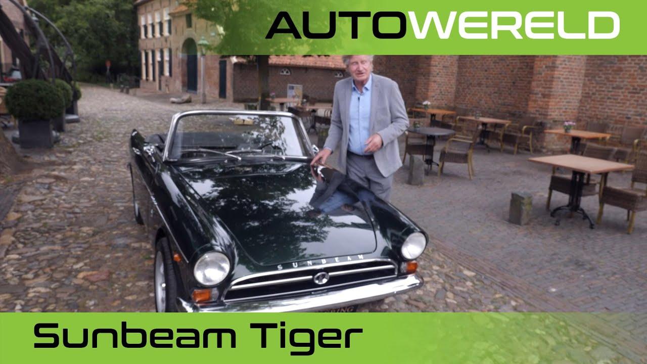Sunbeam Tiger met Nico Aaldering