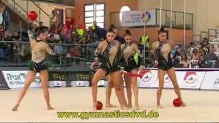 Grand Prix Holon 2014   03   Team Uzbekistan   UZB