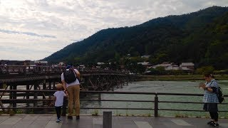 2018年9月24日月中秋の名月京都嵐山の風景☆Arashiyama☆岚山