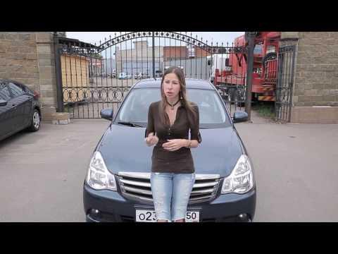 Фото к видео: Ниссан Альмера/Nissan Almera - сестра Рено Логан