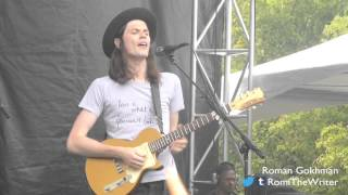"James Bay, ""Best Fake Smile"" - Outside Lands 2015"