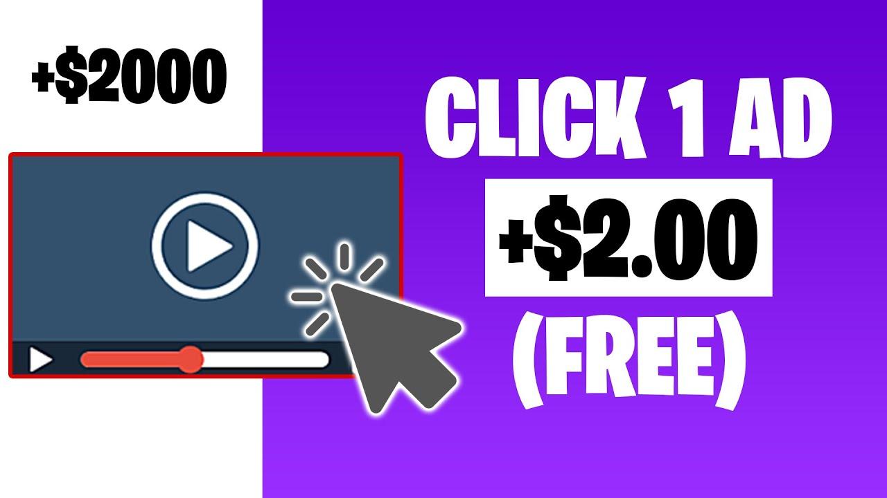 Earn Money To Click Advertisements 1 Click = $2.00 (Earn Money Online)|Ryan Hildreth thumbnail