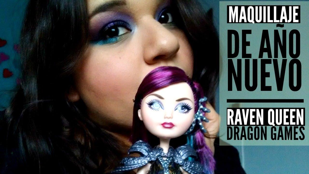 Año Nuevo - Maquillaje Inspirado: Raven Queen Dragon Games