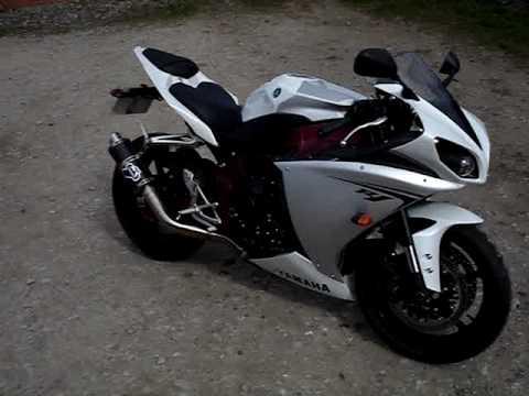 2009 Yamaha R1 Moto GP Pipe / can - 46blake,mumclip com