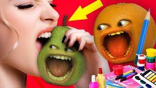 Annoying Orange - Draw It Or Eat It Challenge!