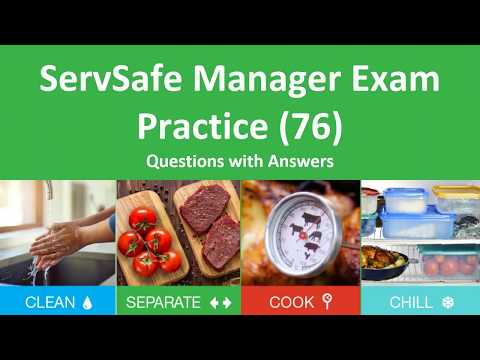 ServSafe Manager Practice Test(76 Questions and Answers ...
