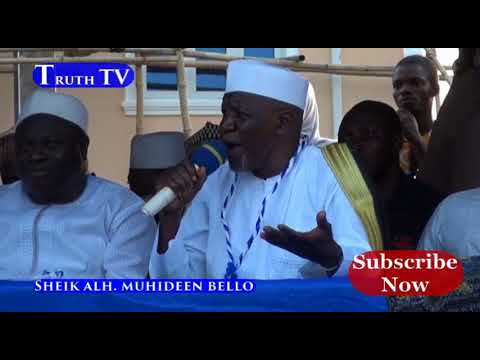 SHEIK MUYIDEEN AJANI BELLO EGOCASTS NIGERIAN POLITICIANS AND JUDGES... AT OKOOLOYUN LECTURE 2018