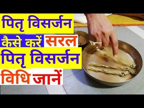 Pitra visarjan kaise krenअपने पितरों का विसर्जन कैसे करें।सर्वपितृ अमावस्या को सरल विधि से जानें।
