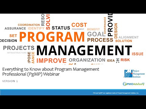 Everything About PgMP (Program Management Professional ...