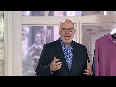 Denim & Co. Active French Terry Pullover Tunic with Hood on QVC