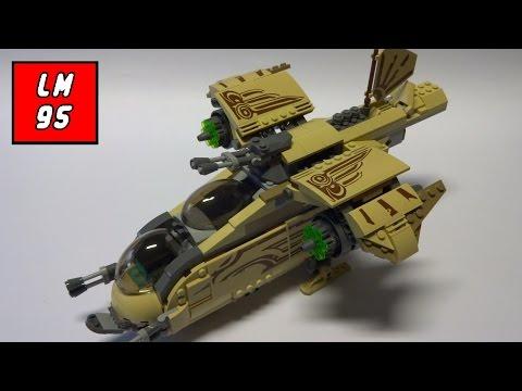 Vidéo LEGO Star Wars 75084 : Le vaisseau de combat Wookiee